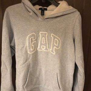 Gap fleece lined sweatshirt